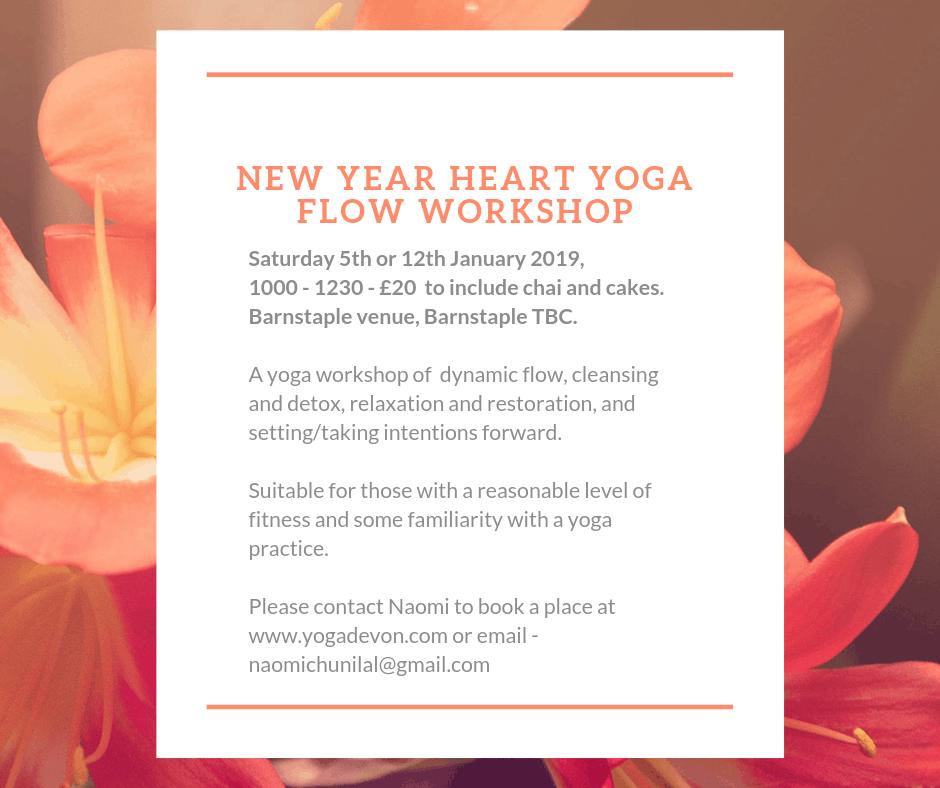 New Year yoga flow workshop