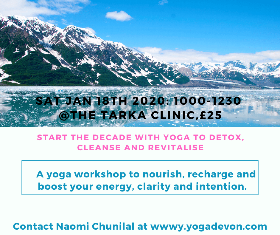January Yoga Detox and restore January 18th 2020 (1)