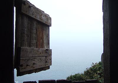window-look-over-sea